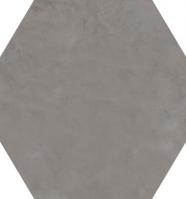 Marca Corona Terra Antracite hexagon 21,6x25